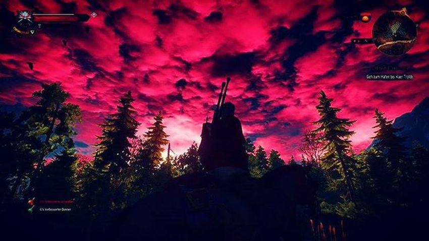 Clouds Sky Beautiful Cloudsporn Cloudscape Wonderful Impressive Thewitcher3 Instagood Instagame Gamestagram Witcher3 PS4 Ps4share