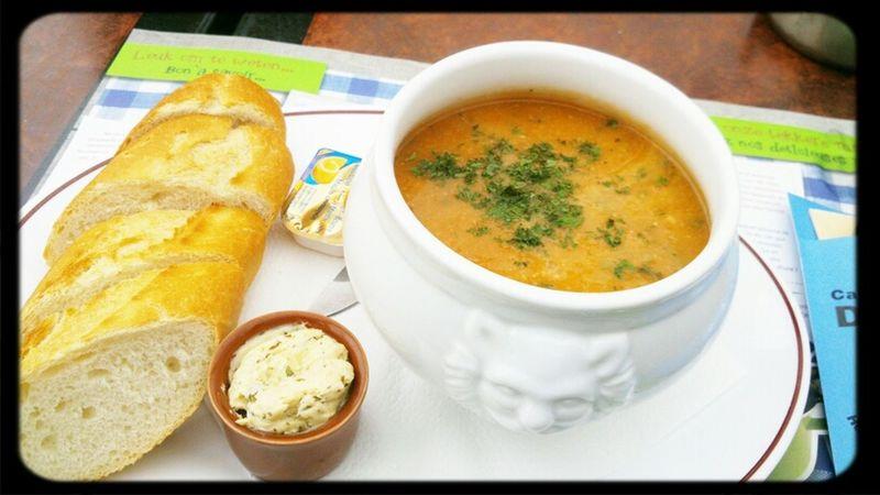 Having A Soup