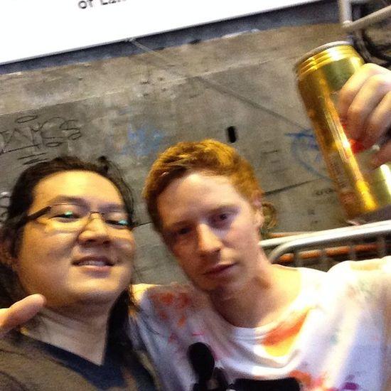With Greg @ LKF LanKwaiFong Trip HongKong 2014 val iphone5