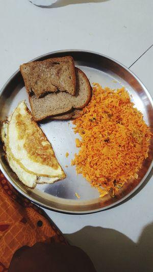 Show Us Your Takeaway! Cheeseomlet brown bbirya Biryani