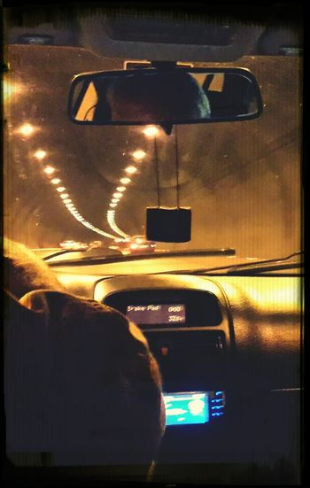 Traffic After Exam(: Tunnel View with With My Family