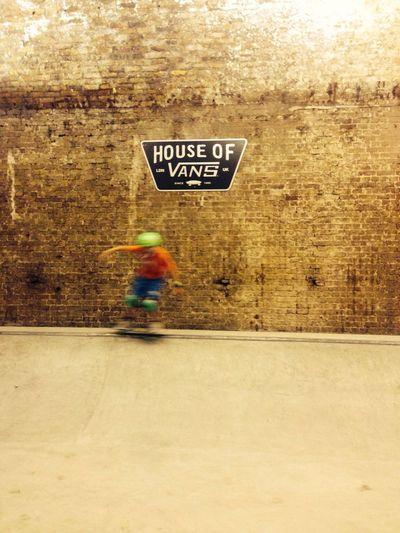 Semi-pro twelve year old House Of Vans
