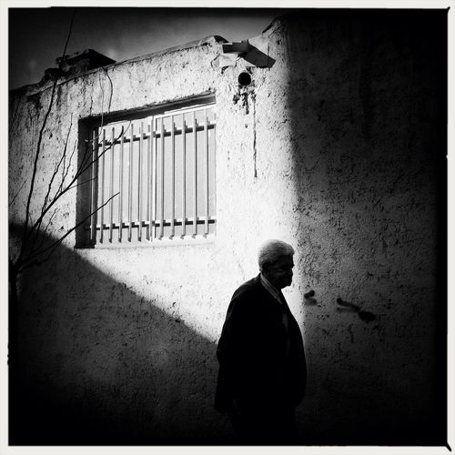 """""""I think the Enlightenment is leading us into a dark hole, really."""" • David Hockney WeAreJuxt.com Streetphotography AMPt - Street Blackandwhite"""