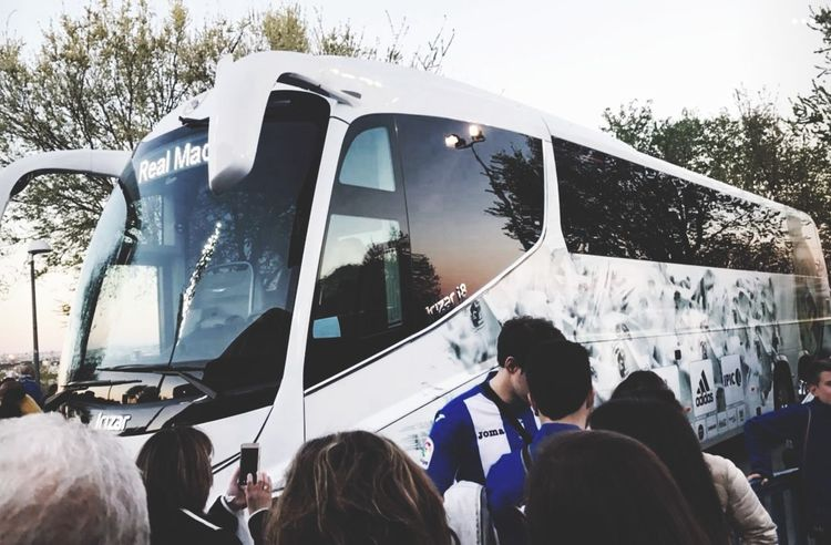 There are many beatiful things, like passion for football 👌⚽ Transportation Car Realmadrid Leganés Football
