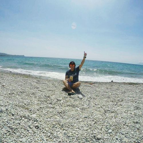 Thankyou to the One Upthere!! Under The Sun Life Is A Beach Pacific Ocean Shoreline Selfportrait Selfie