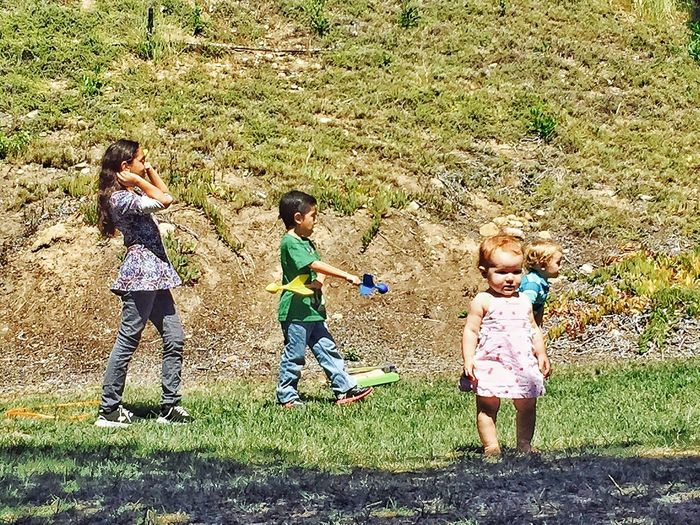 Protecting Where We Play kid plays atthepark
