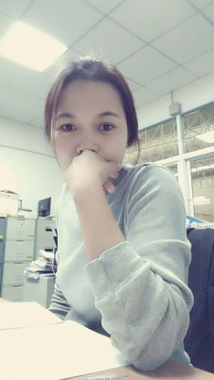 Thailand That's Me Today At Work It Works Looking At Camera