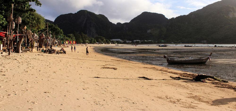 Beach Chill Phi Phi S Sea Sky Sun Thail
