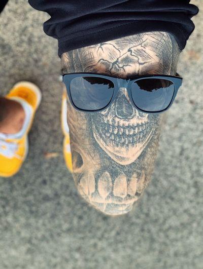 High angle view of sunglasses