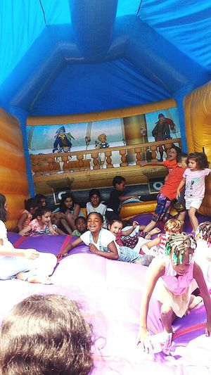 Look individually 😊 Children Playing Happy Smile. Jumping Joy Refugees Throwback Eid 2015 Summer
