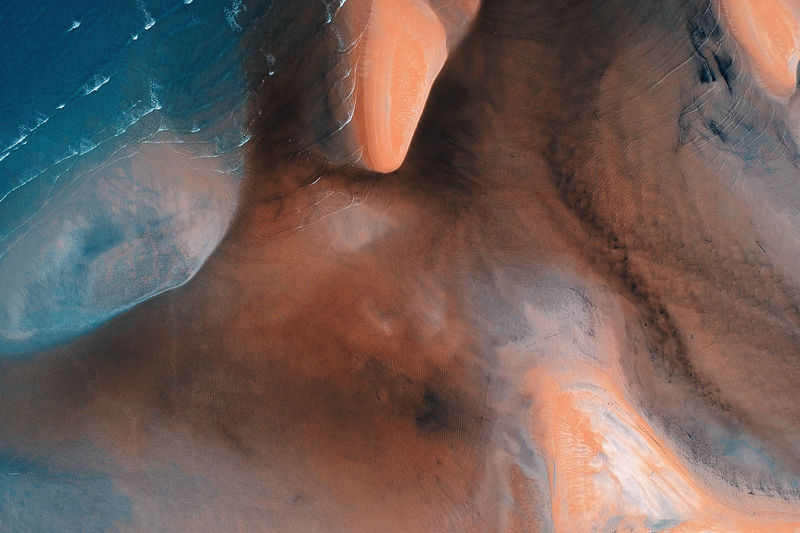 Textured  Beauty In Nature Brown Close-up Day High Angle View Indoors  Nature No People Pattern Scenics - Nature Sea Tranquil Scene Tranquility Travel Destinations Water Wood - Material