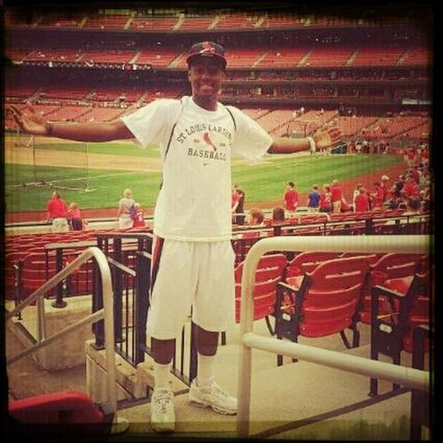 When I Was Home In St.Louis !