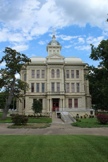 Courthouse Historical Building Milam County Textured