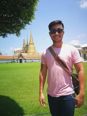at the grand palace EyeEm Selects Fashion Religion Arts Culture And Entertainment Sunglasses Gold Colored