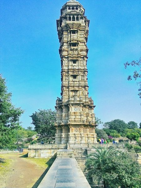 Tallest Building @ Asian  Biggest Fort World Heritage Chittorgarh Fort Vijaystambh