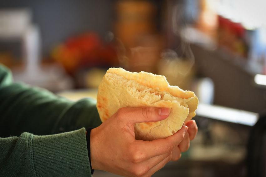 Autumn Bread Broken Food Naanbread Oriental
