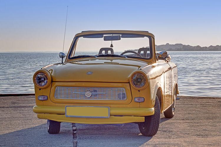 Trabant601 Transportation Yellow