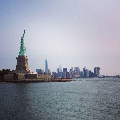 🗽Estatualibertad Newyork NYC Landscape sea