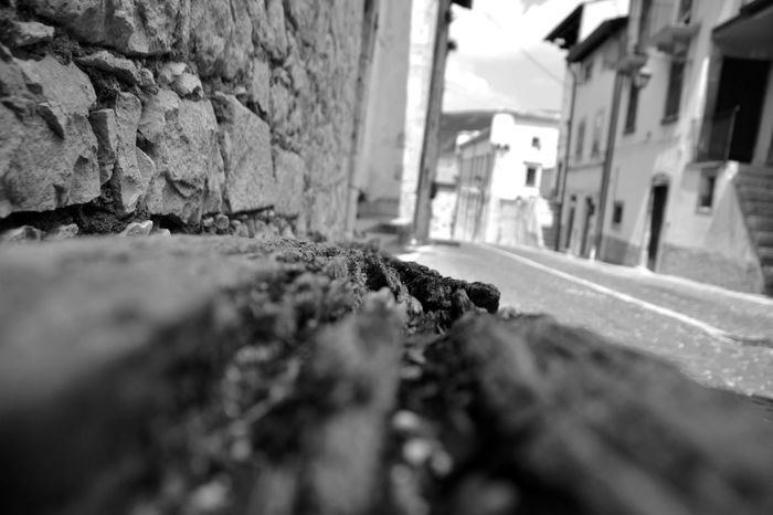 Little Town Abruzzo - Italy Pescocostanzo Blackandwhite Black & White Streetphotography Street No People Deserted Remember