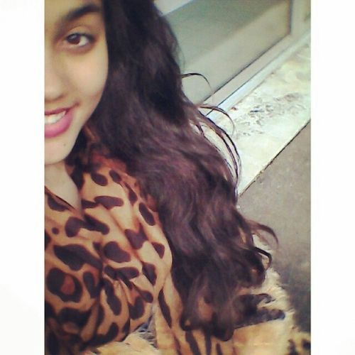 ?? Today Posez Lycée Taleur Smile Leopard Brown Hair Kiss Love