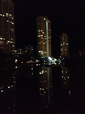 Taking Photos Pure And Untouched (raw Image) Night River After Dinner Mint