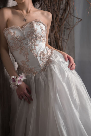 Adult Bride Day Evening Gown Fashion Formalwear One Person People Real People Standing Wedding Wedding Dress Women Young Adult Young Women