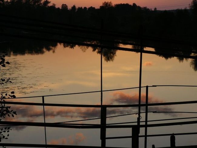 Cloud - Sky Reflection Sunset Sky Tranquility Nature No People