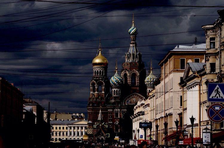 St. Peterburg Peterburg 2015  Photo City Day Church