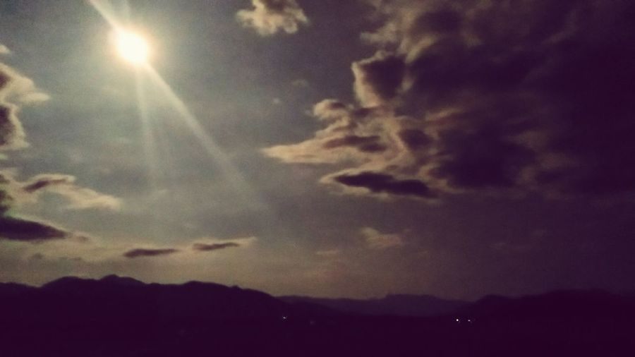 Night Sky Moon Moonshine Ruralnights Asuszenfone2 Latenight First Eyeem Photo
