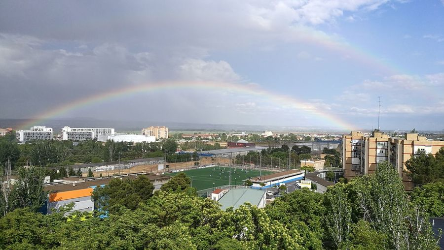 Double rainbow,