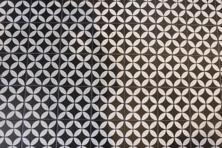 Full frame shot of patterned metal grate