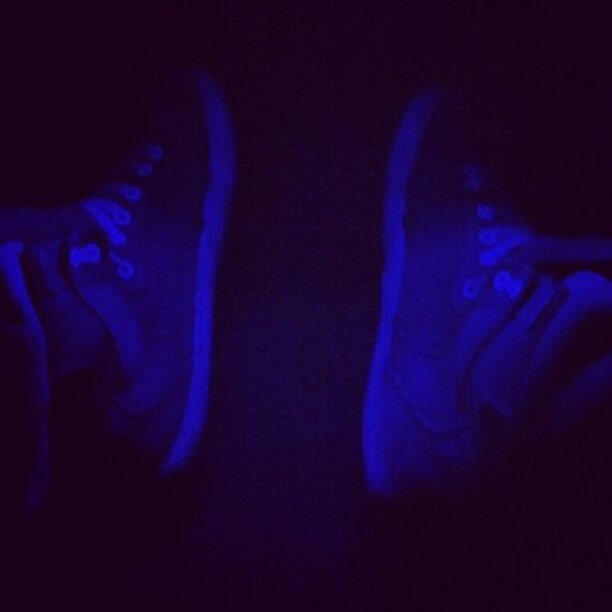 Supras  beater shoes. Blue LED Instagood instamood instacool shoes