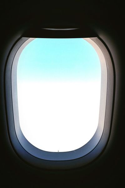 Flying Sky And Clouds Window Space Flight ✈ Travel Aerial View Out Of The Window