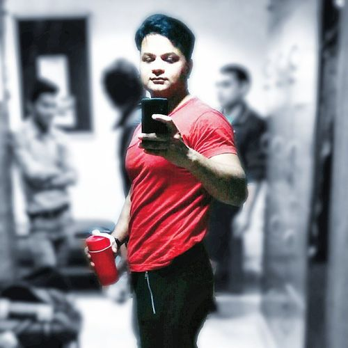 Anyone can workout for hours. But to control what goes on your plate the other 23 hours, that's work hard. Selfie Selfobsessed Afterworkout Workout Rajeevkumar August28inc A28inc