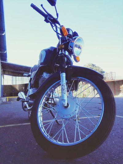 Motocicleta Motorcycle Sky
