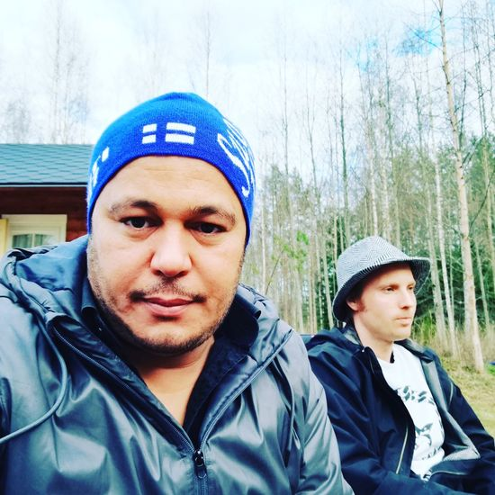 Portrait Two People Mid Adult Men Looking At Camera Togetherness Day Real People Mid Adult Leisure Activity Knit Hat Headshot Young Adult Outdoors Lifestyles Young Men Father Bonding Men Adult Close-up Finlande Finland Savonlinna Finland Savonlinna Finland Finland Savolinna
