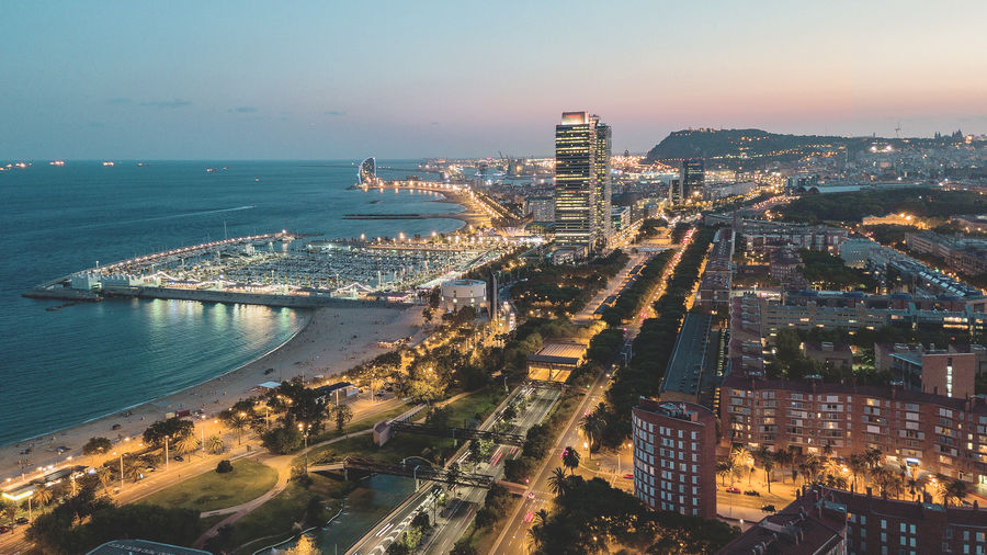Barcelona Drone  SPAIN Sunset_collection Travel Architecture Built Structure City Cityscape Drone Photography Dronephotography Droneshot High Angle View Hotel Sunset Travel Destinations W Hotel