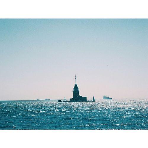 Maidenstower Kizkulesi Boğaz Bosphorus istanbul landscape sea marmara instagood picoftheday uskudar takenbyme blue