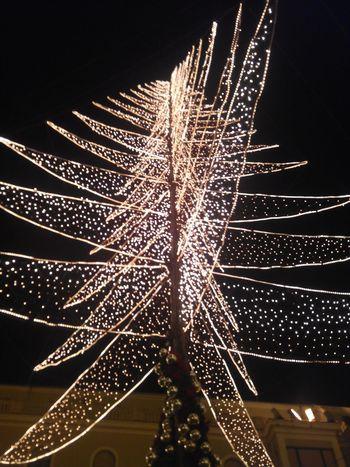 Arbol De Navidad LeonEsp  España Spain Is Different Luces Lights Españoles Y Sus Fotos Noedit Nofilter Contrapicado