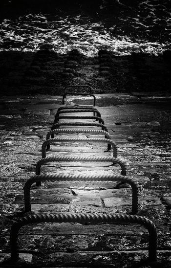Beach Photography Ladder On The Wall up or down the climb to safety Blackandwhite Blackandwhite Photography Shot Of The Day EyeEm Best Shots Eye4photography  EyeEm Best Edits EyeEm Gallery Check This Out Onmytravels Seafront Southsea Portsmouth @notyourhaggis Instagram Check It Out