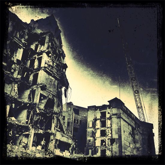 Where the walking wounded go St. Louis, MO AMPt_community Urban Exploration Saint Louis