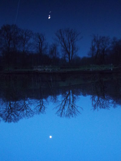 Lake Lakeside Moon Rise Moon_collection Moonlight Nature Photography Nature_collection Trees And Sky United Kingdom Water Reflections Water_collection