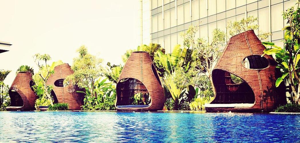 Pool Hilton Hotel Photooftheday Architecture