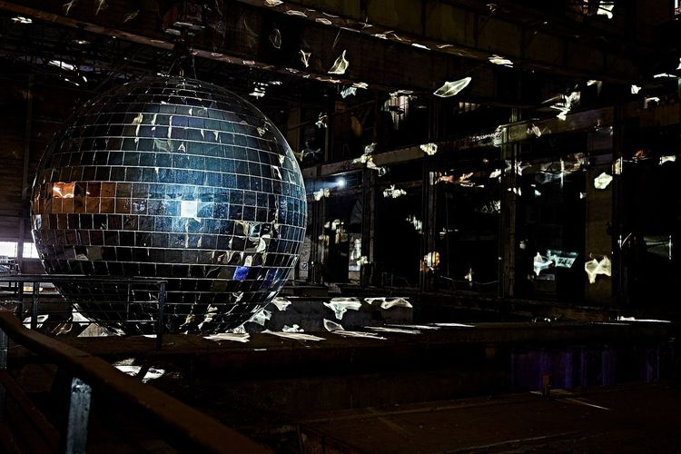 The incredible disco ball at the 2016 Luminatofestival Turnthehearn Luminato10 Luminatoyvp