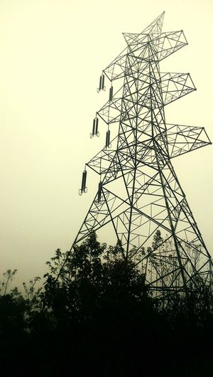 Geometric Shapes Power Lines From Jeep Window Moving Capture Foggy Weather EyeEM Photos Htc One M8 Photography EyeEm Best Shots