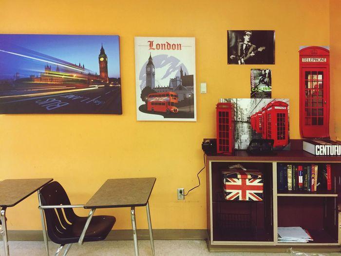 Classroom mine 😊 Britain Elvis Costello Clash London Calling