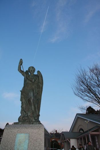 Hello World Peace Angel Blue Sky Flying Angel 天使降臨 Fly To The Sky