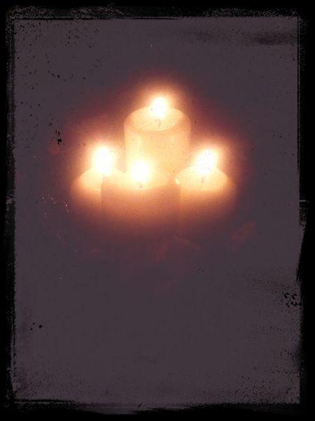 Svece Vecerja Vencek Božic