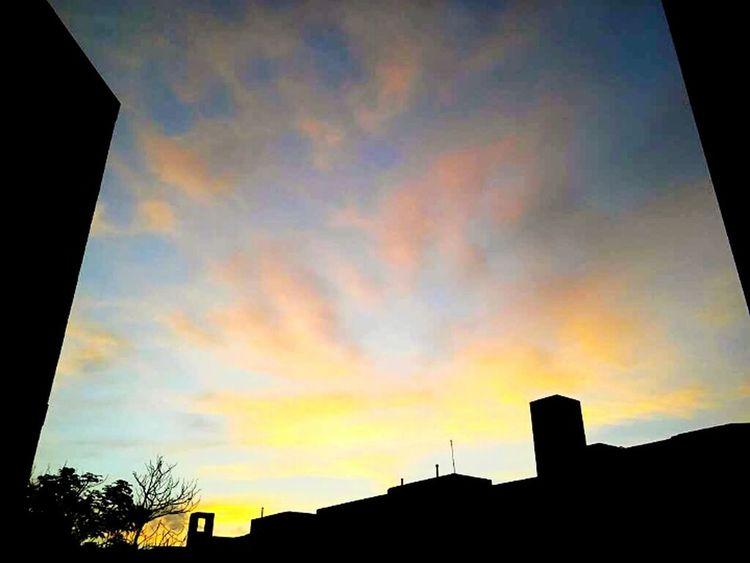 Cityview Nature Cloud - Sky Sky Sunset Day Naturephotography HDR HelloEyeEm