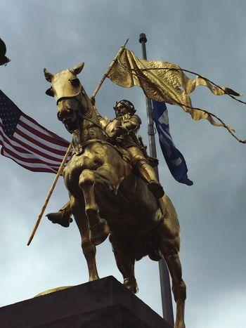 Joan Of Arc New Orleans Strong Historical Sights Enjoying Life Amazing StrongerthanI BiggerthanI Martyr Saint Joan